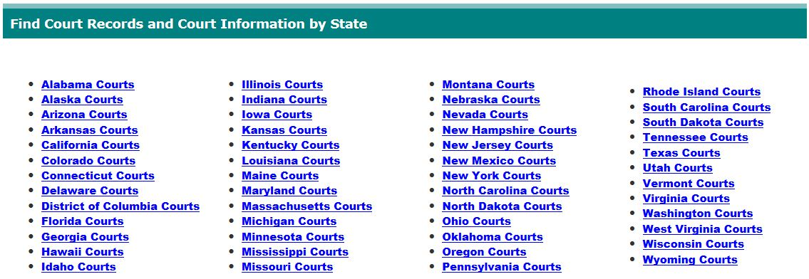 Quickly Check the Availability of State Court Electronic